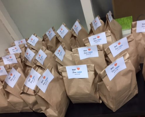 Lots of love in these packages for the kids